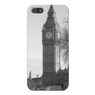 Caso del iPhone de B/W de Big Ben Londres iPhone 5 Funda