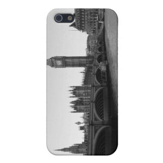Caso del iPhone de B/W del puente Londres de Westm iPhone 5 Funda