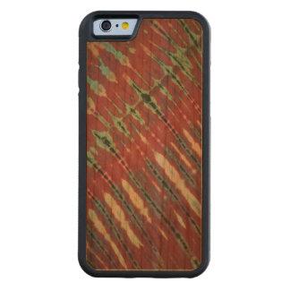 Caso del iPhone de Boho del batik Funda De iPhone 6 Bumper Cerezo