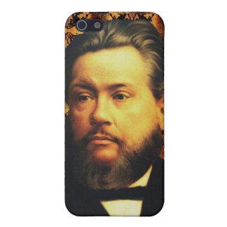 Caso del iPhone de Charles H. Spurgeon iPhone 5 Protectores