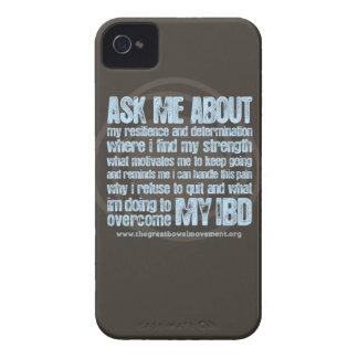 Caso del iPhone de Crohns y de la colitis iPhone 4 Case-Mate Coberturas