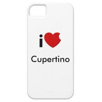 caso del iPhone de Cupertino del iLove iPhone 5 Fundas