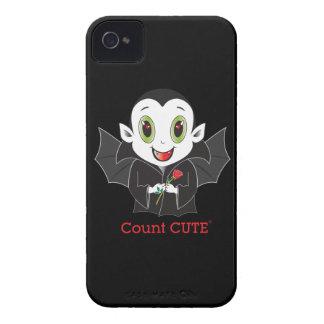 Caso del iPhone de Cute® de la cuenta iPhone 4 Case-Mate Carcasa