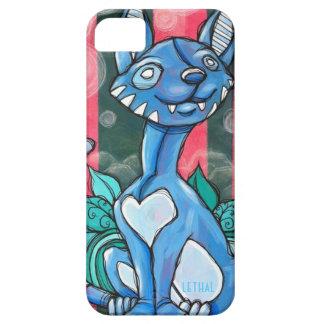 Caso del iPhone de //del gatito del tigre iPhone 5 Carcasas