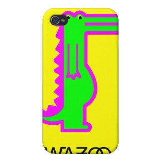 Caso del iPhone de Dino iPhone 4 Carcasa