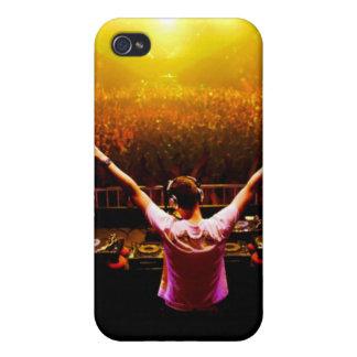 caso del iphone de DJ iPhone 4 Fundas