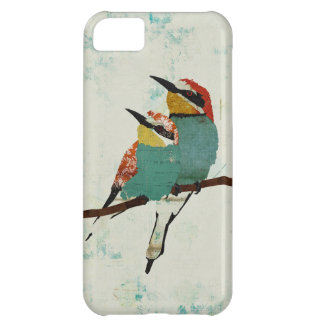 Caso del iPhone de dos pequeño pájaros Funda Para iPhone 5C