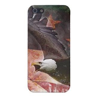 Caso del iPhone de Eagle en vuelo iPhone 5 Fundas