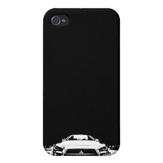 Caso del iPhone de EVO X iPhone 4 Carcasas
