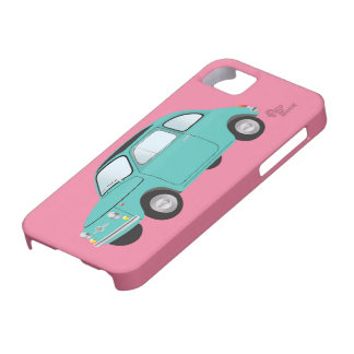 Caso del iphone de Fiat 500 iPhone 5 Carcasa