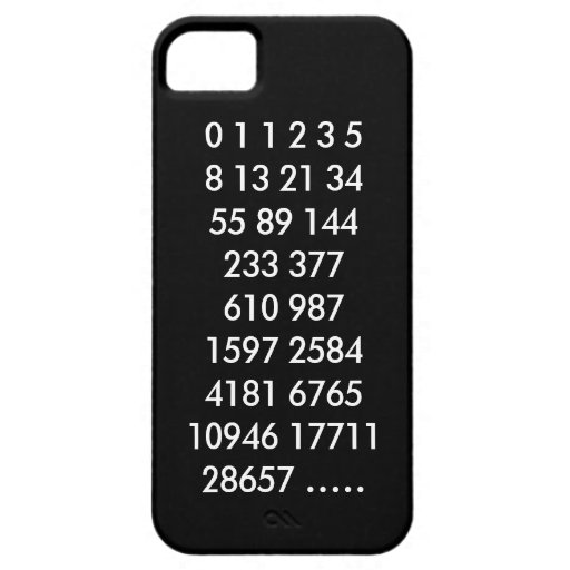 Caso del iPhone de Fibonacci iPhone 5 Case-Mate Coberturas