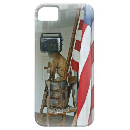 """Caso del iPhone de """"Fox News"""" iPhone 5 Carcasa"""