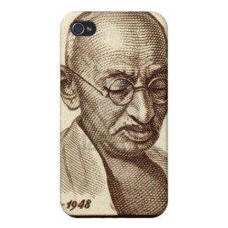 Caso del iPhone de Gandhi iPhone 4 Carcasa