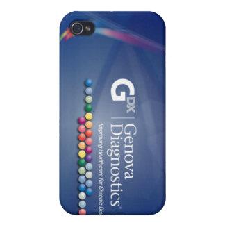 Caso del iPhone de Génova - hielo iPhone 4/4S Carcasa