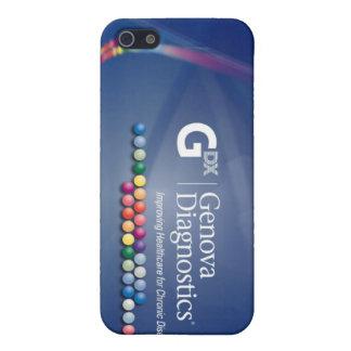 Caso del iPhone de Génova - hielo iPhone 5 Carcasa