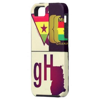Caso del iPhone de Ghana iPhone 5 Fundas