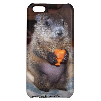 Caso del iPhone de Groundhog Maude del bebé