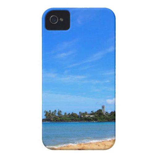 Caso del iphone de Hawaii de la bahía de Waimea iPhone 4 Case-Mate Cobertura