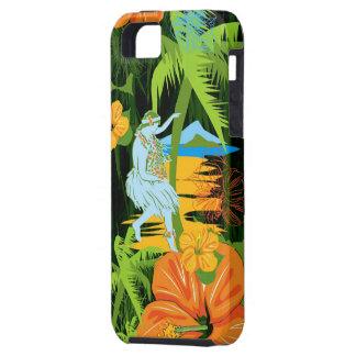 Caso del iPhone de Hawaii de la hawaiana iPhone 5 Carcasas