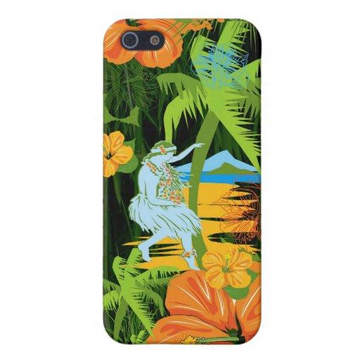 Caso del iPhone de Hawaii iPhone 5 Cárcasas