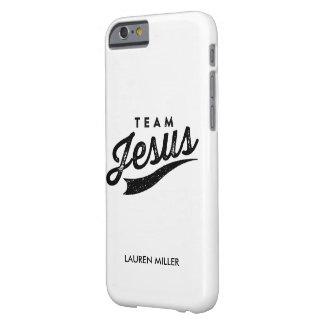 Caso del iPhone de Jesús del equipo Funda De iPhone 6 Barely There