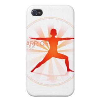 Caso del iPhone de la actitud de la yoga (actitud  iPhone 4 Cárcasas