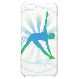 Caso del iPhone de la actitud de la yoga (triángul
