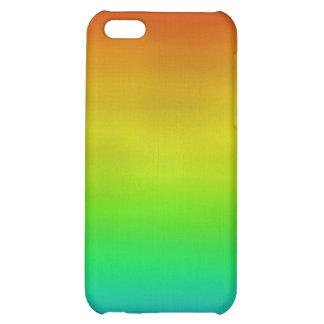 Caso del iPhone de la acuarela del arco iris