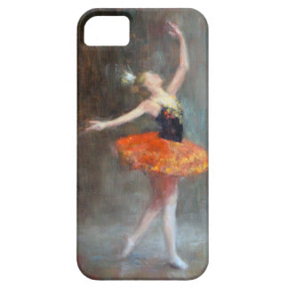Caso del iphone de la bailarina iPhone 5 Case-Mate cárcasa