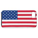 Caso del iPhone de la bandera americana iPhone 5 Case-Mate Funda