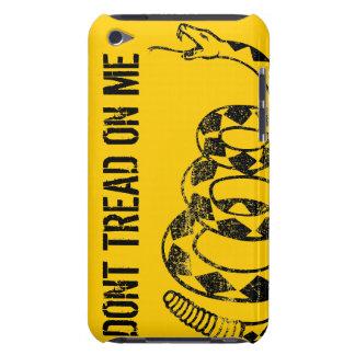 Caso del iPhone de la bandera de Gadsden Cubierta Para iPod De Barely There