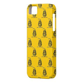 Caso del iPhone de la bandera de Gadsden iPhone 5 Case-Mate Carcasas