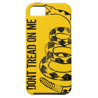 Caso del iPhone de la bandera de Gadsden Funda Para iPhone 5 Tough