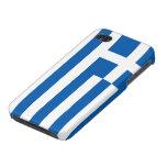 Caso del iPhone de la bandera de Grecia iPhone 4/4S Fundas