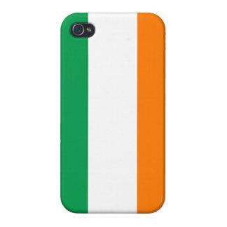 Caso del iPhone de la bandera de Irlanda iPhone 4/4S Carcasa