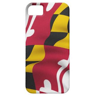 Caso del iPhone de la bandera de Maryland iPhone 5 Funda