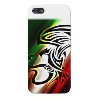 Caso del iphone de la bandera de México iPhone 5 Cárcasa
