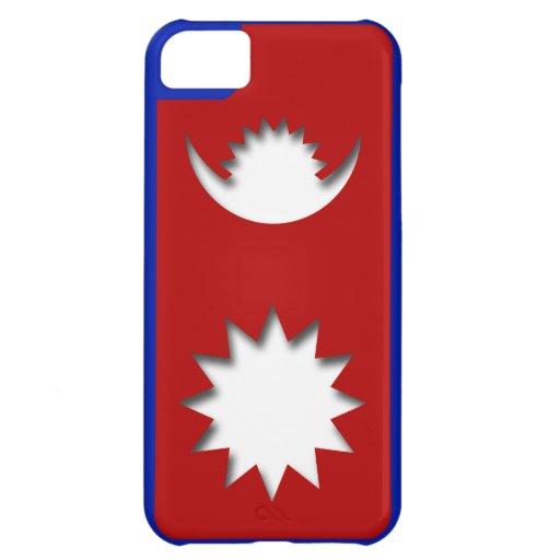 Caso del iPhone de la bandera de Nepal