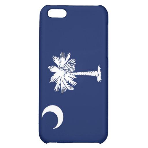 Caso del iPhone de la bandera del estado de Caroli