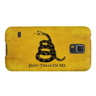 Caso del iPhone de la bandera del vintage de Funda Galaxy S5