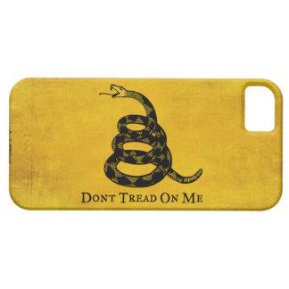 Caso del iPhone de la bandera del vintage de Gadsd iPhone 5 Case-Mate Protector