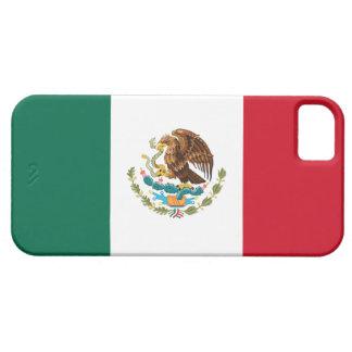 Caso del iPhone de la bandera mexicana iPhone 5 Fundas