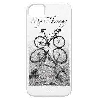 Caso del iPhone de la bici - mi terapia iPhone 5 Fundas