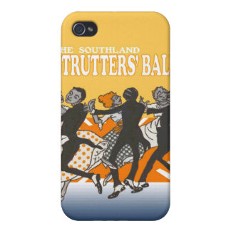 Caso del iPhone de la bola de Strutters iPhone 4/4S Fundas