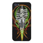Caso del iphone de la bujía de la tienda de la vel iPhone 5 cárcasa