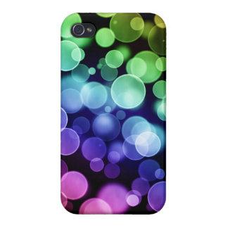 Caso del iphone de la burbuja del disco iPhone 4 protectores