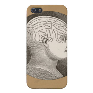 Caso del iPhone de la cabeza de la psicología de l iPhone 5 Carcasas