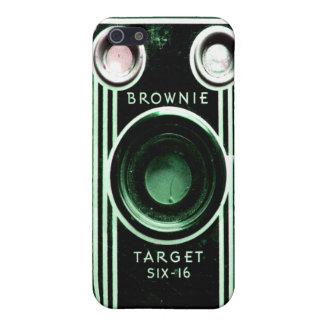 Caso del iPhone de la cámara de Kodak del vintage iPhone 5 Funda