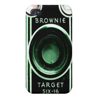Caso del iPhone de la cámara de Kodak del vintage iPhone 4/4S Carcasas