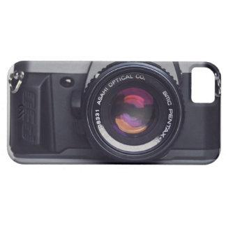 Caso del iPhone de la cámara de Pentax iPhone 5 Funda